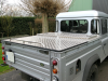 Land Rover 130 Tonneau Cover and Front Gull Wing Box