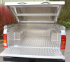 Raised Samson Tonneau Cover, fitted with a Samson Aluminium Lining.