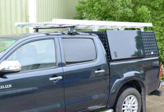 Truework Canopy fitted to a New Toyota Hilux