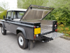 Fully Welded Samson Aluminium Load Liner fitted to this Land Rover 130 single Cab.