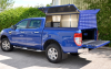 New Ford Ranger Colour Coded Samson Canopy with lift up side doors