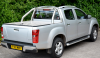 Samson Top Cover fitted with Stainless steel Sports bar on this Isuzu Pickup.