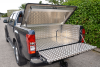Combination Tool Box and Top Cover fitted with this Samson Aluminium Load Liner to this Isuzu DMax pickup.