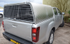 New Isuzu Agrican Canopy with Mesh Rear Door.