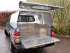 Agrican with a Solid rear door and fitted over a Samson Aluminium Load Liner.