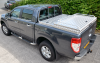 New Limited Ford Ranger with Gull wing Box fitted at front with Raised Samson Tonneau cover fitted at tailgate end.