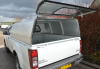 Agrican fitted to the New Isuzu D Max single cab pickup - solid rear door, lockable and lifts up on gas rams.