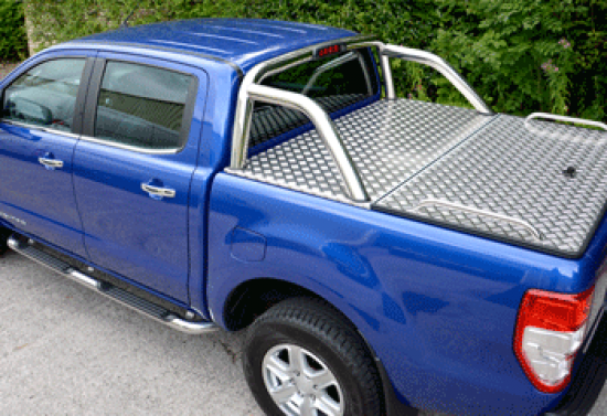 New Ford Ranger Tonneau Cover with Genuine Ford Sports Bar