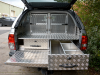 Perforated Dog Guard and Hunter Style Drawers