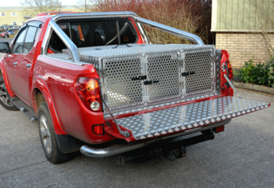 Triple Dog Box to sit behind wheel arches