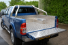 Fully welded Load liner fitted with a Double Hoop Sports bar in this new 2014 Toyota Hilux