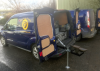 Chapel Forge Farriers Bespoke Farriers Unit fitted to this VW Caddy Van