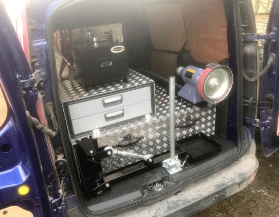 Farriers VW Caddy Van Bespoke Unit