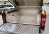An Aluminium Samson Lining has been fitted with this Samson Tonneau Cover.