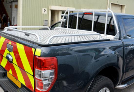 Ford Ranger Samson Hinged aluminium Top Cover