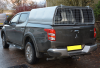 AGrican with Mesh rear door fitted to a Mitsubishi Series 5 Pickup