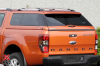 Ford Ranger Alpha Type E in Pride Orange.