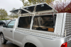 double lift up side doors on the Toyota Single cab canopy.