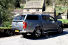 Nissan NP300 fitted with the Aeroklas Pop Out windows Canopy