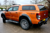 New Ford Ranger fitted with the Aeroklas Pop out Windows Canopy