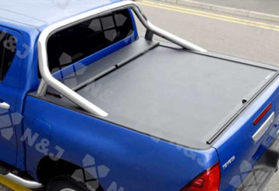 Toyota Hilux 2016 On Roll And Lock retractable Tonneau Cover