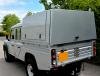 Land Rover 130 Gullwing Samson Aluminium Canopy