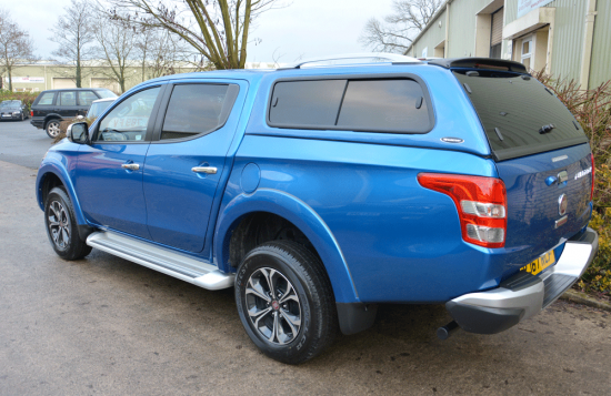 CARRYBOY LEISURE HARD TOP CANOPY FOR THE FIAT FULLBACK DOUBLE CAB 2016