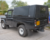 Samson Canopy loks great over the Samson Load liner fitted to these 110 Land Rovers