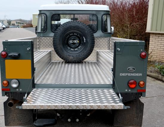 Land Rover 110 HCU Aluminium Load Liner