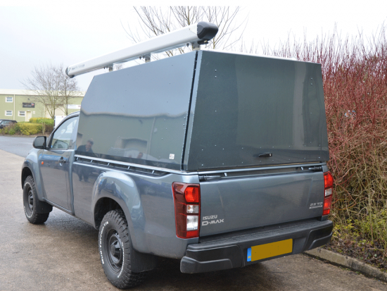 High Roofed sloped Samson Isuzu Canopy