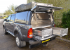 Samson Fully welded Canopy on this Toyota Hilux Pickup.