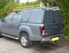 Optional Extra Roof Rack fitted to a Isuzu Dmax 4x4 Pickup.