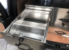removeable trays fitted into the lockable drawer.