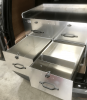 Double fully welded Aluminium drawer, fully loackable.