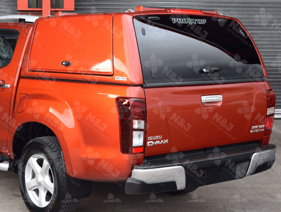 ISUZU D-MAX 2017 ON PRO//TOP CANOPY - GULLWING SIDE ACCESS DOORS
