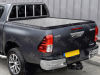 Hilux with Factory Fitted Ladder Rack