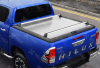 TOYOTA HILUX 16 ON DOUBLE CAB MOUNTAIN TOP ALLOY CHEQUER PLATE TONNEAU COVER MT2 TO90 Z01