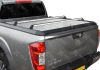 NISSAN NAVARA NP30016 ON DOUBLE CAB MOUNTAIN TOP ALLOY CHEQUER PLATE TONNEAU COVER MT2 NI90 A01