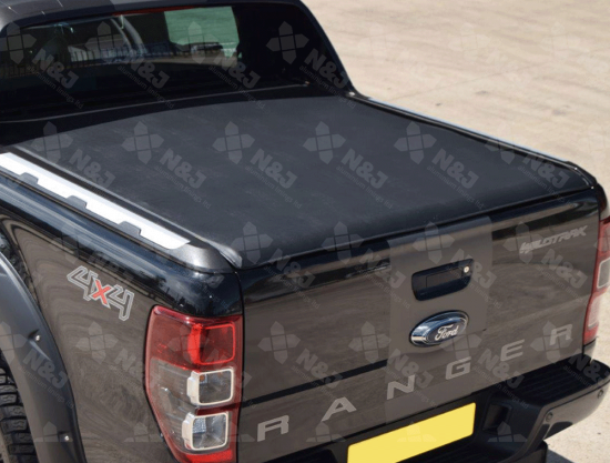 FORD RANGER DOUBLE CAB 2012 ONWARDS WILDTRAK TONNEAU COVER – SOFT ROLL UP ULTRA TAUGHT