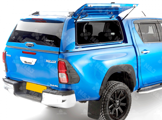 TOYOTA HILUX 2016 ONWARDS DOUBLE CAB ALPHA CMX HARD TOP PAINTED