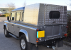 Solid Sided Land Rover 90 Samson Canopy