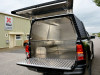 Toyota Revo Pickup lined with a Samson Aluminium Lining and fitted with a Samson Colour coded canopy.