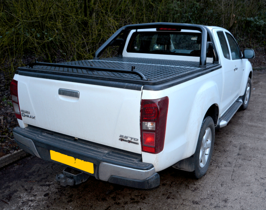 Isuzu Extra Cab Powder Coated Samson Tonneau Cover