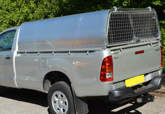 Toyota Single Cab Agrican Canopy