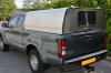 Toyota Extra Cab Agrican Canopy with Solid Tailgate