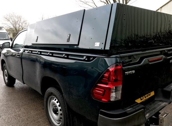 Toyota Hilux Single Cab Gullwing Canopy