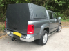VW Amarok Farriers Canopy Colour Coded with full sided Door.